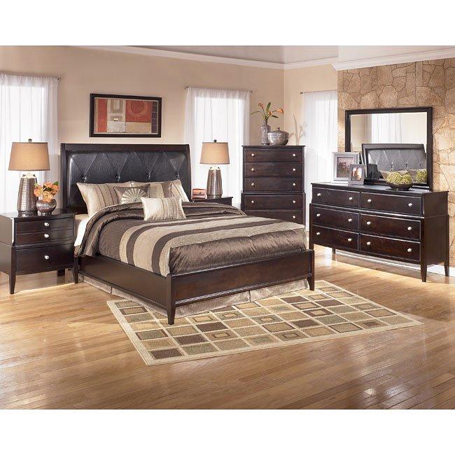 naomi platform bedroom set signature design furniture cart
