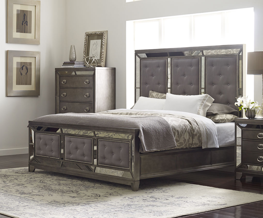 Lenox Panel Bed Queen By Avalon Furniture