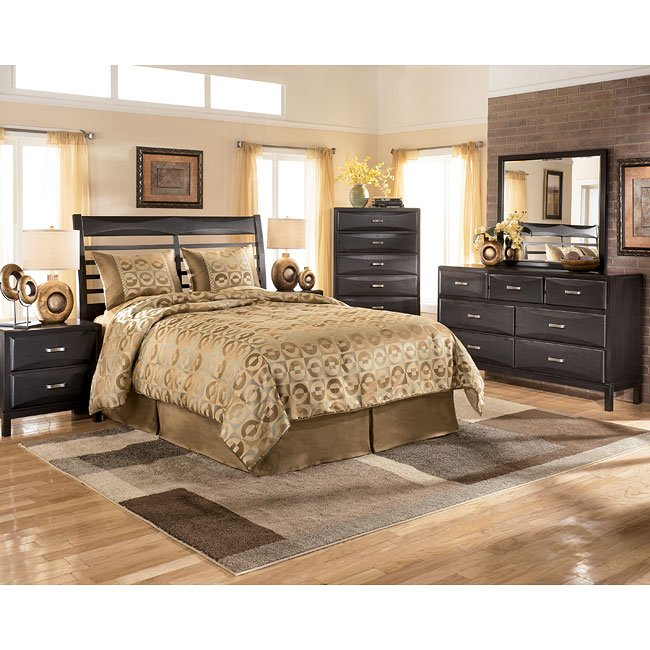 Kira Headboard Bedroom Set