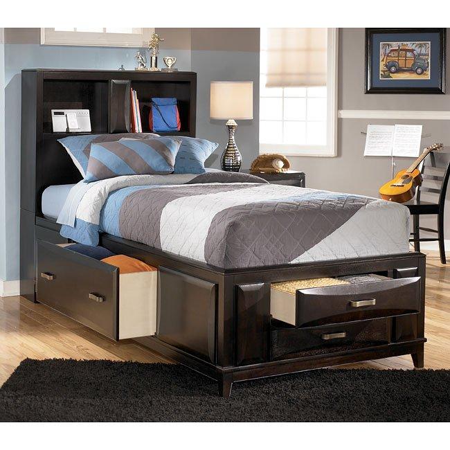 Kira Youth Storage Bed Signature Design Furniture Cart
