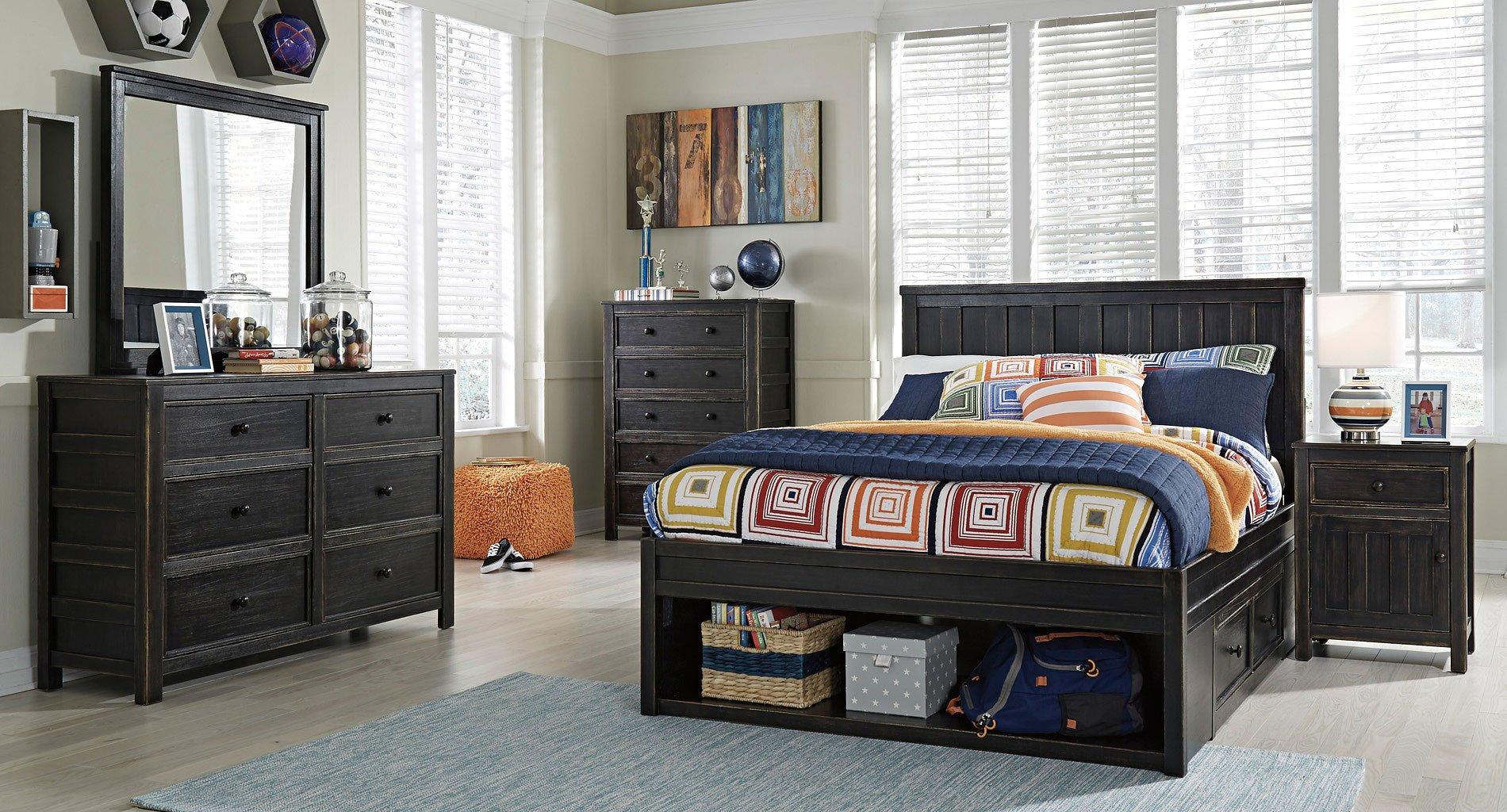 Jaysom youth storage bedroom set signature design - Youth bedroom furniture with storage ...