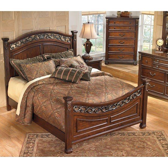 Leahlyn Panel Bedroom Set Signature Design Furniture Cart