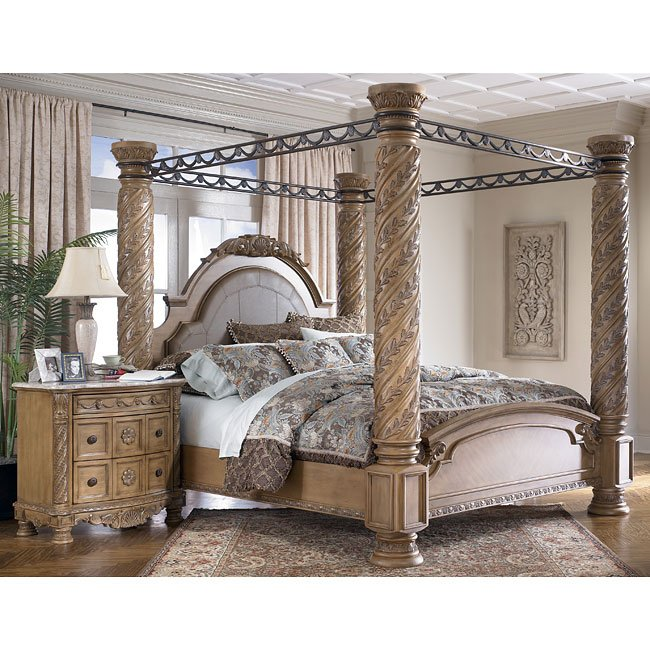 North Shore Poster Canopy Bedroom Set From Ashley B553: South Coast Poster Canopy Bed Millennium