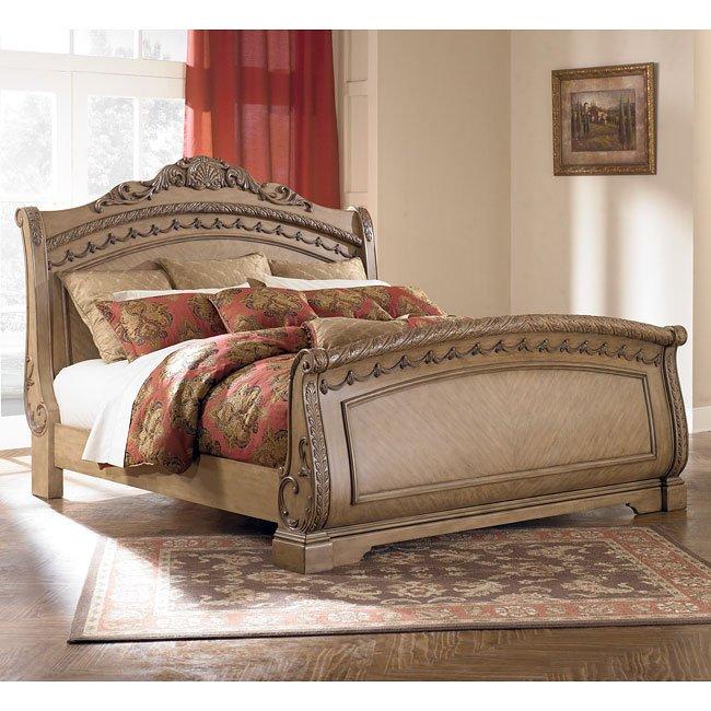 South Coast Sleigh Bed Millennium Furniture Cart