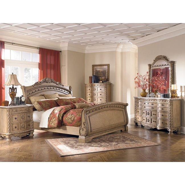 South Coast Sleigh Bedroom Set Millennium