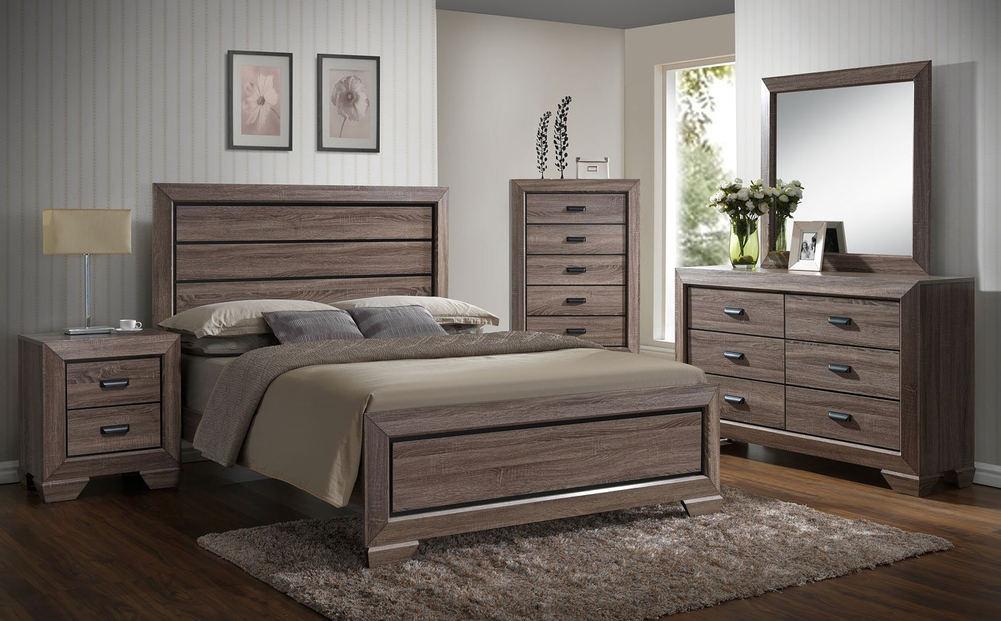 Farrow Youth Panel Bedroom Set Crown Mark Furniture 1 Reviews