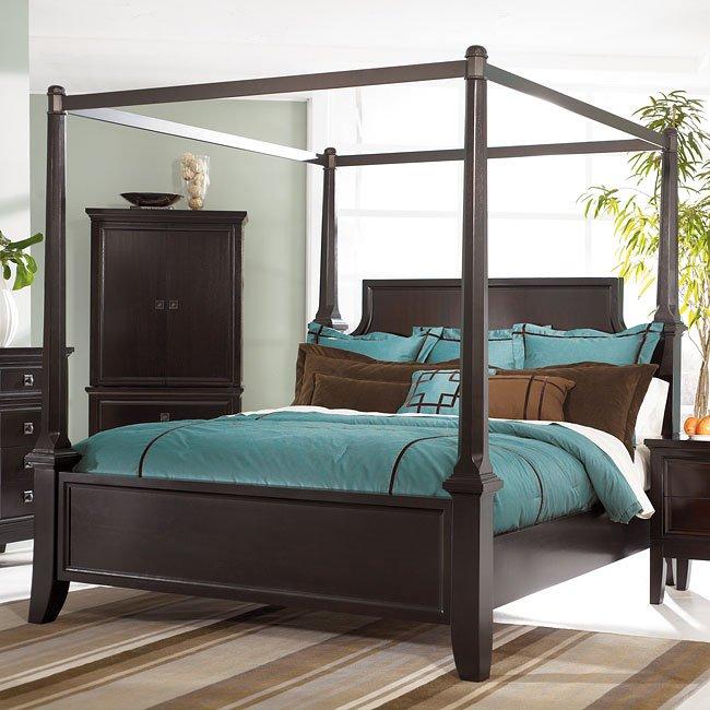 Martini Suite Canopy Bedroom Set Millennium 1 Reviews Furniture Cart
