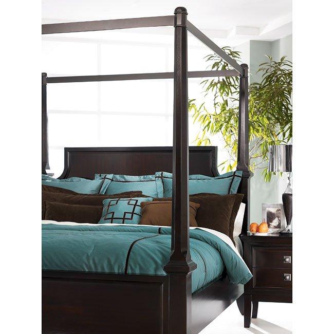 Martini Suite Canopy Bed Millennium