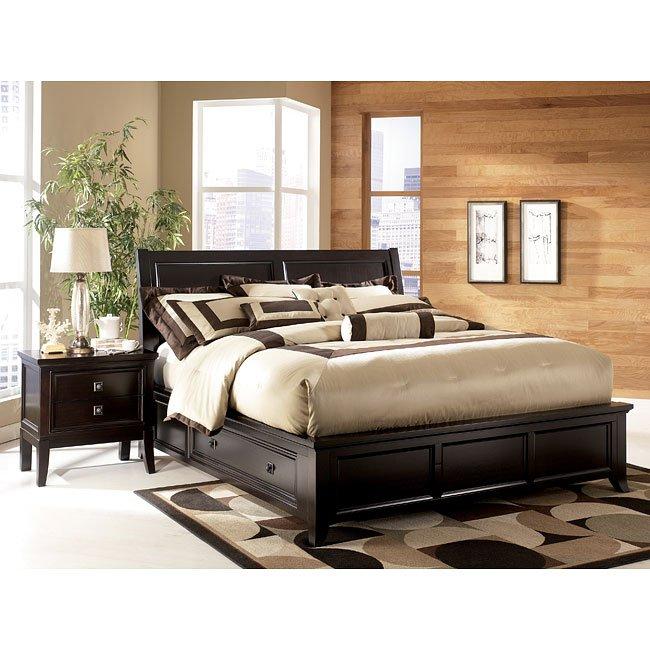 Martini Suite Storage Platform Bed Millennium Furniture Cart