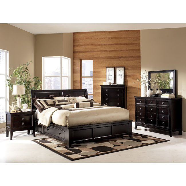 martini suite storage platform bedroom set - Platform Bedroom Sets