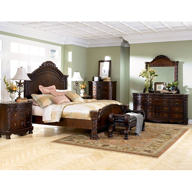 Ashley Furniture Store Kansas City: North Shore Panel Bedroom Set Millennium, 3 Reviews