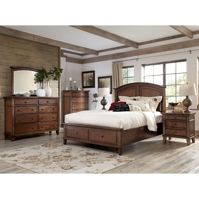 Burkesville Bedroom Set W/ Storage Bed