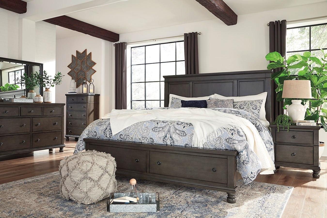 Devensted Storage Bedroom Set Signature Design By Ashley Furniture Cart