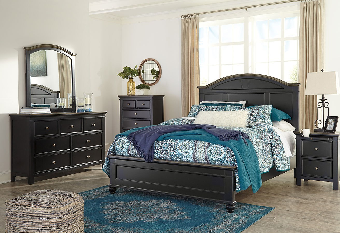 Froshburg Panel Bedroom Set Signature Design