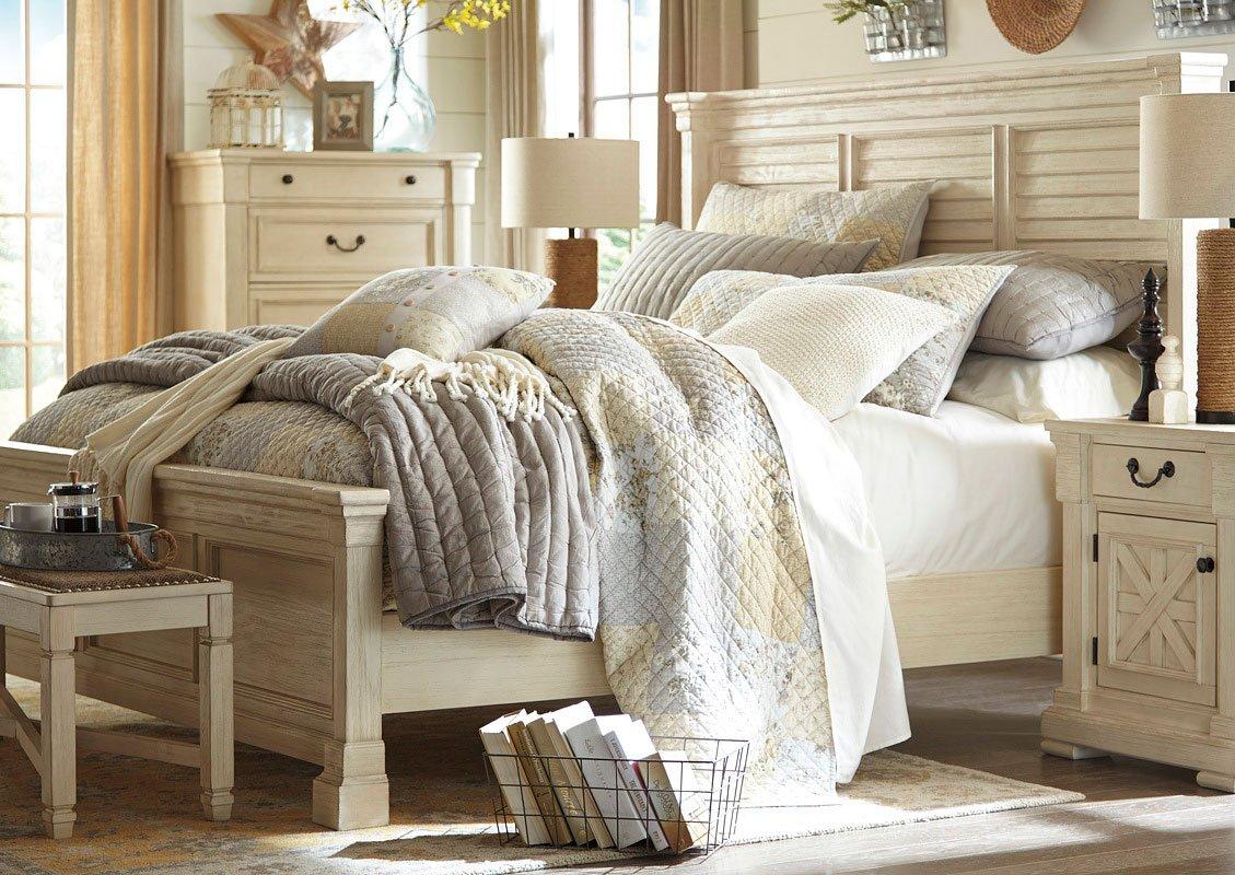 Bolanburg louvered bedroom set signature design 1 reviews - Ashley bedroom furniture reviews ...