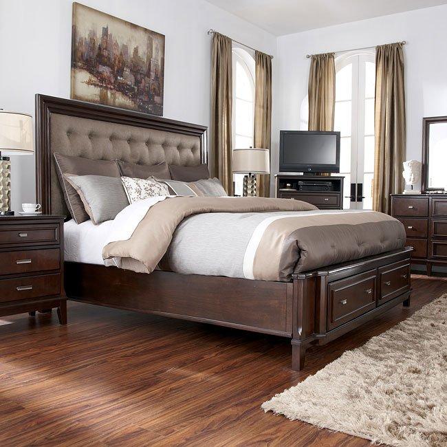Larimer Panel Storage Bed Millennium | Furniture Cart