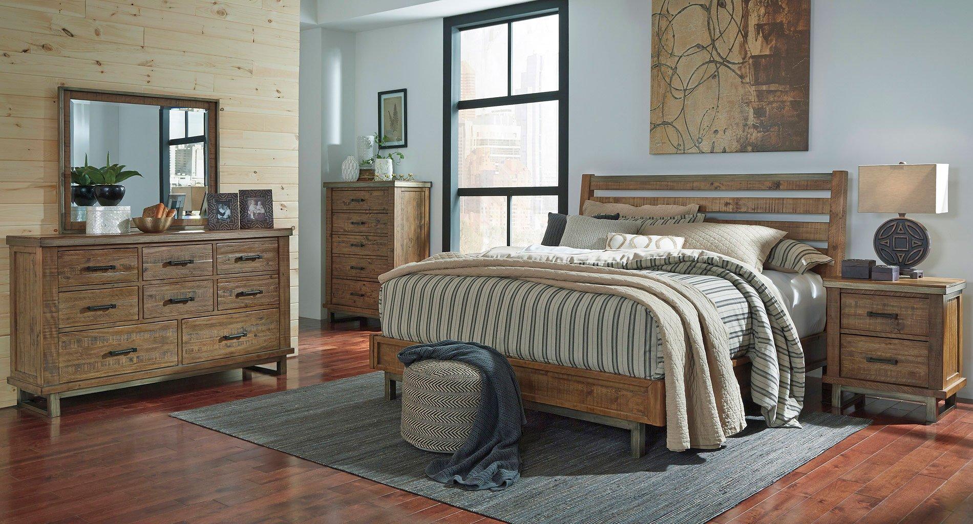 Dondie Platform Style Bedroom Set Signature Design