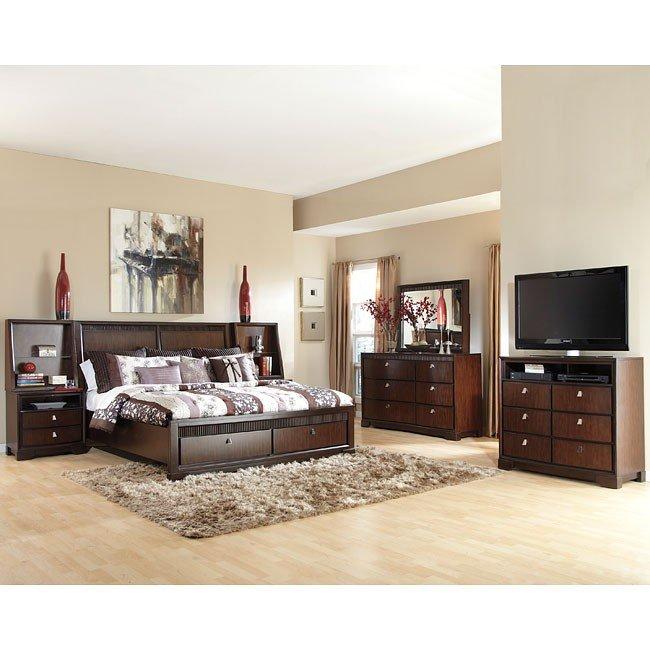 Marxmir Storage Bedroom Set