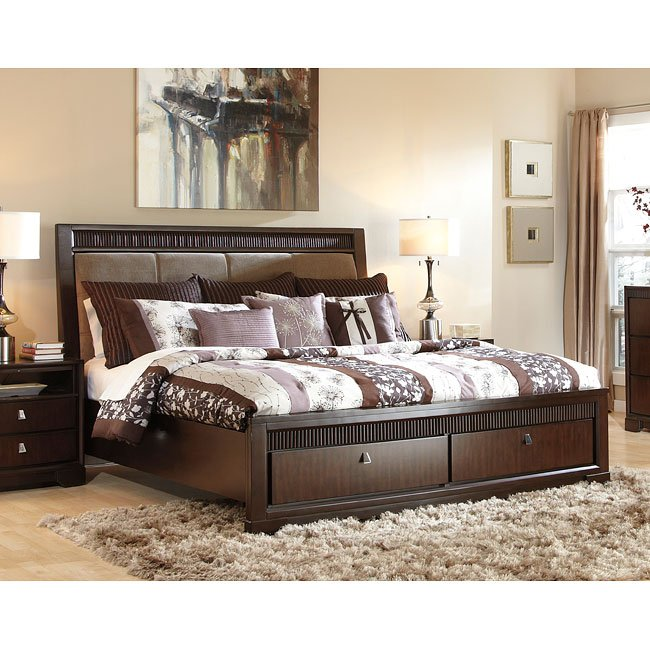 Marxmir Upholstered Storage Bed