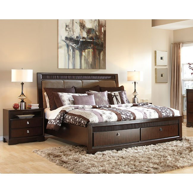 Marxmir Upholstered Storage Bedroom Set
