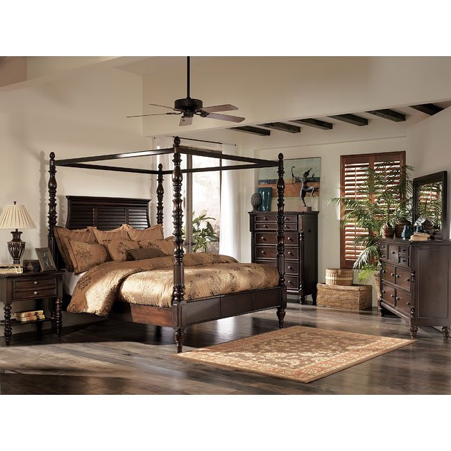 Incredible Key Town Canopy Bedroom Set Beatyapartments Chair Design Images Beatyapartmentscom