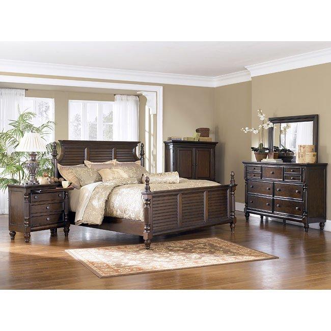 Key Town Panel Bedroom Set Millennium Furniture Cart