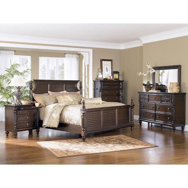 Key town bedroom set