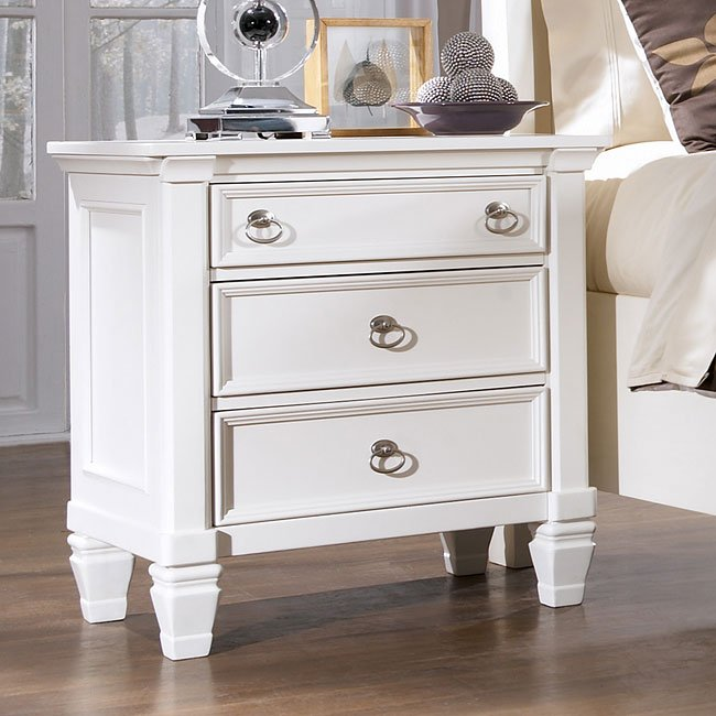 Prentice 3-Drawer Night Stand