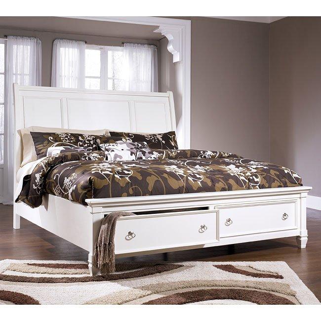 Prentice Sleigh Storage Bedroom Set Millennium 3 Reviews Furniture Cart