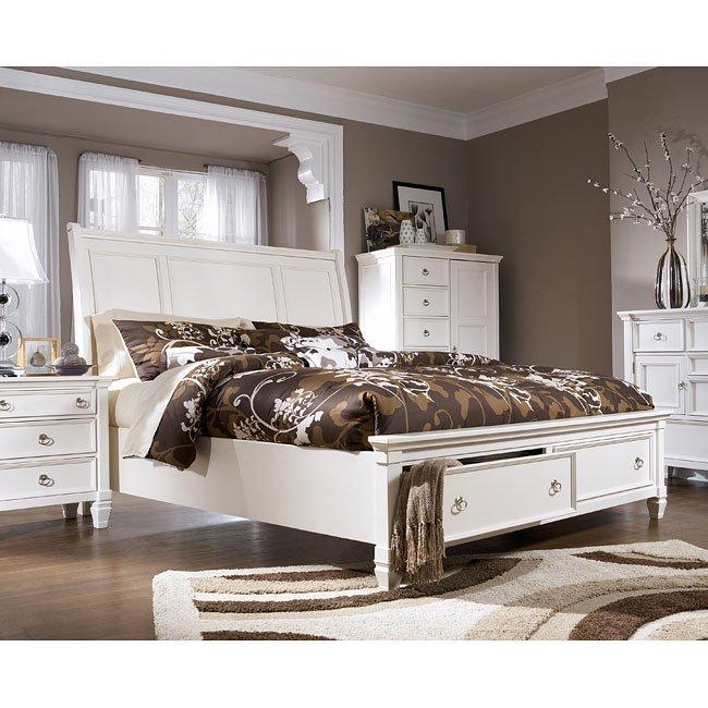 Prentice Sleigh Storage Bed Millennium Furniture Cart