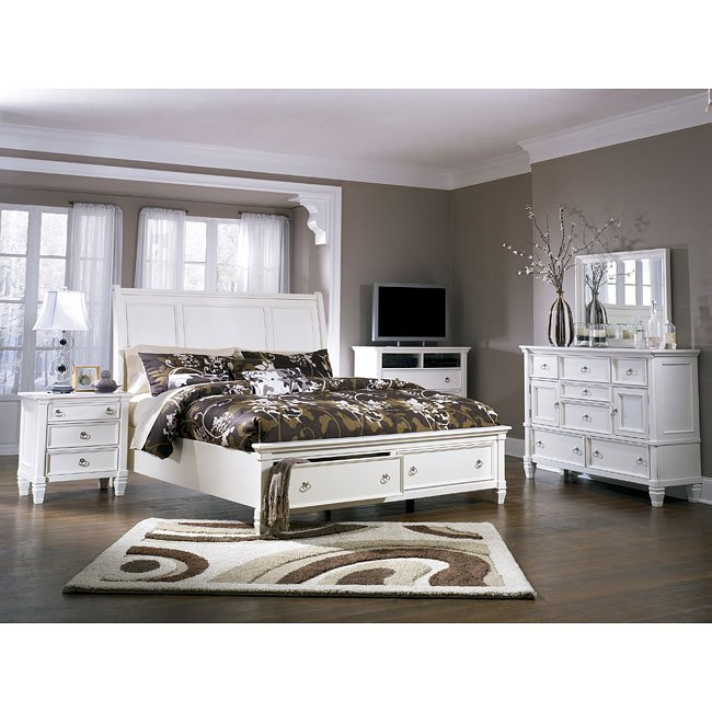 Prentice Sleigh Storage Bedroom Set Millennium 3 Reviews