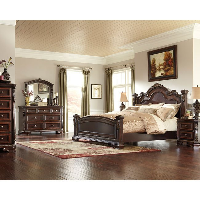 Wendlowe Poster Bedroom Set