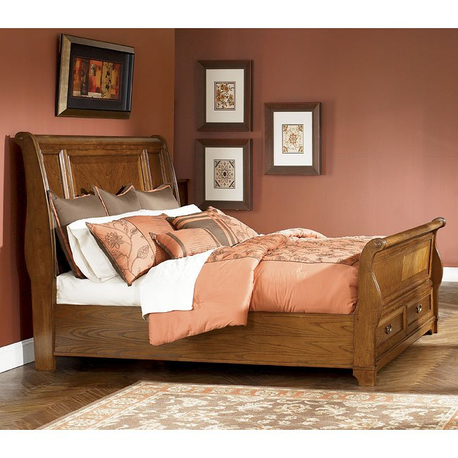 Whitney Hall Sleigh Bed