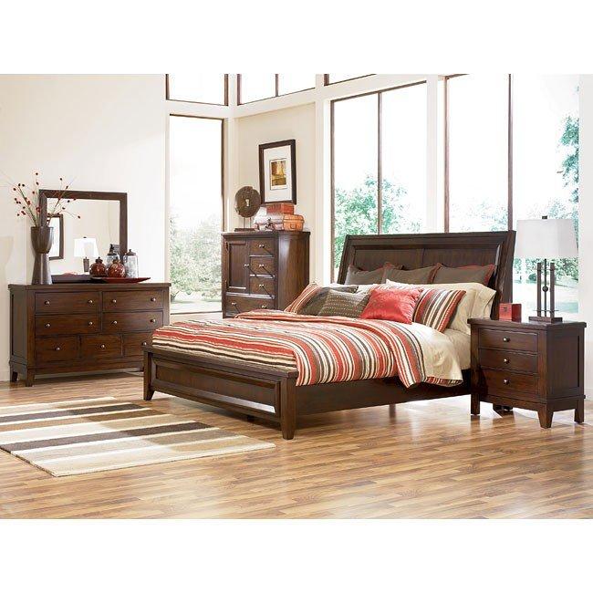 Holloway Panel Bedroom Set Millennium Furniture Cart