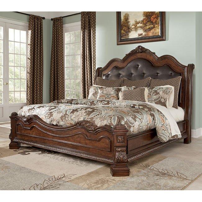 Ledelle Sleigh Bedroom Set Signature Design 1 Reviews Furniture Cart
