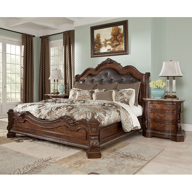 Ledelle Sleigh Bedroom Set Signature Design 1 Reviews