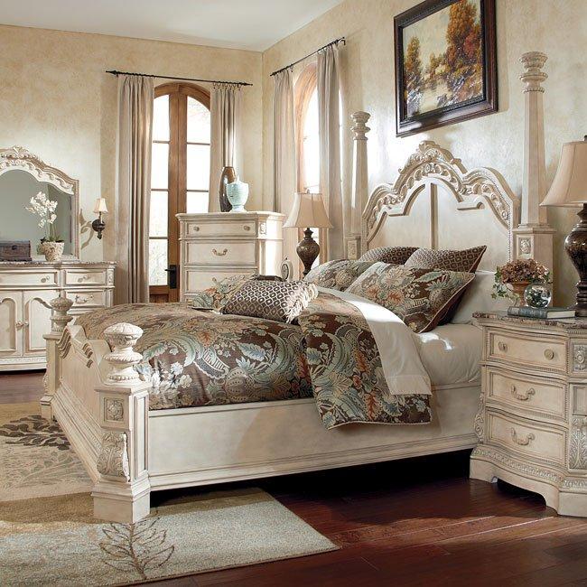 Ortanique Poster Bed Signature Design Furniture Cart