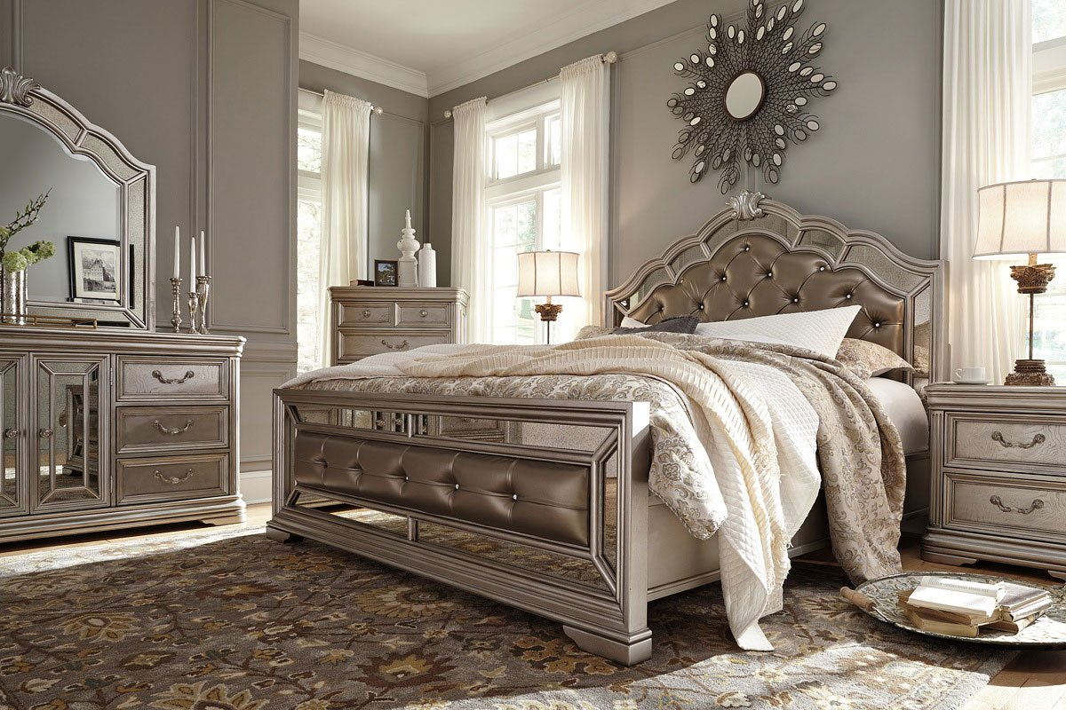 Birlanny Panel Bedroom Set Signature Design, 3 Reviews