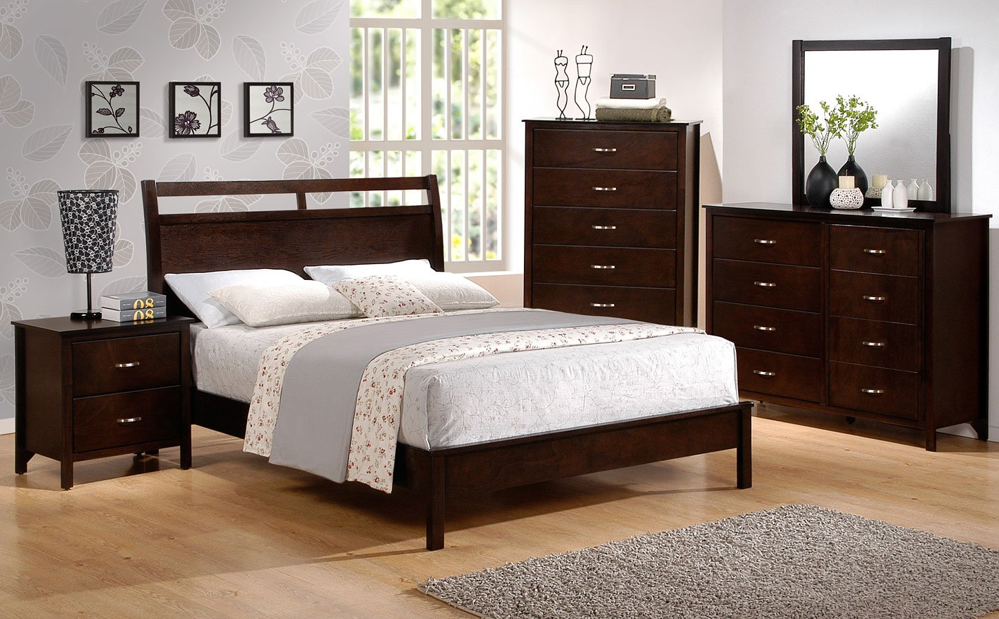 Ian Youth Low Profile Bedroom Set