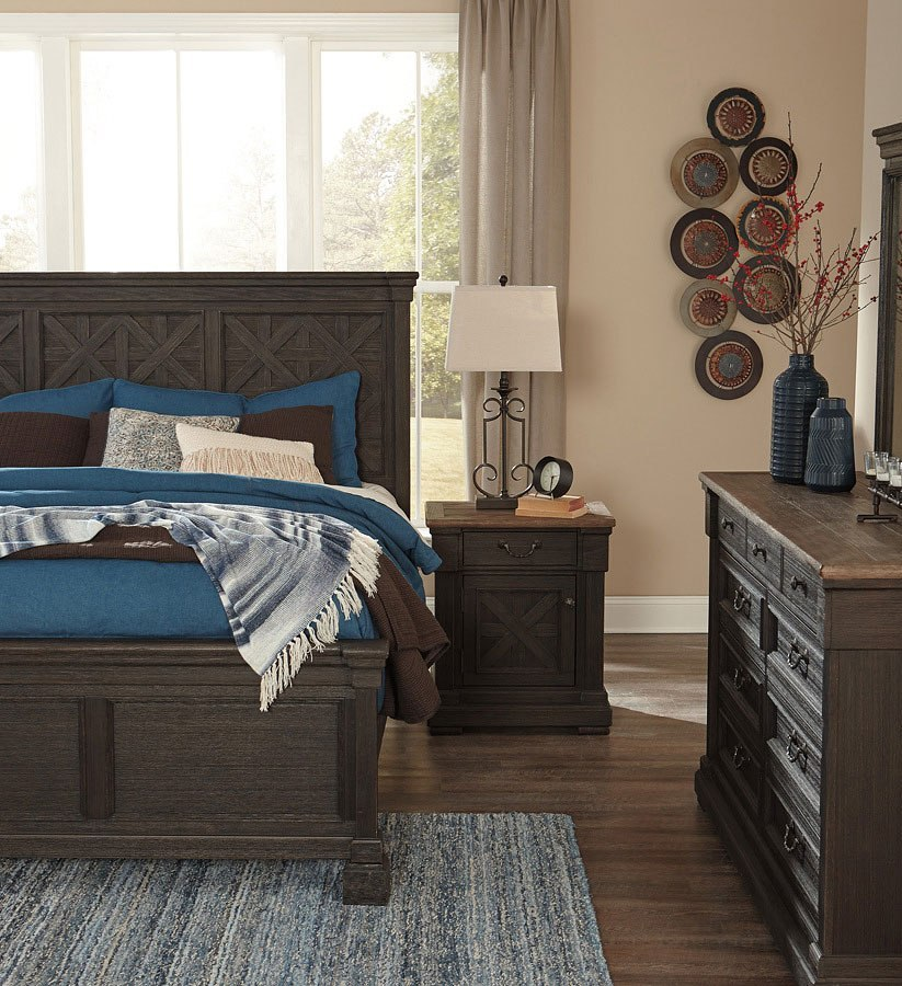 Tyler Creek Panel Bedroom Set Signature Design Furniture Cart