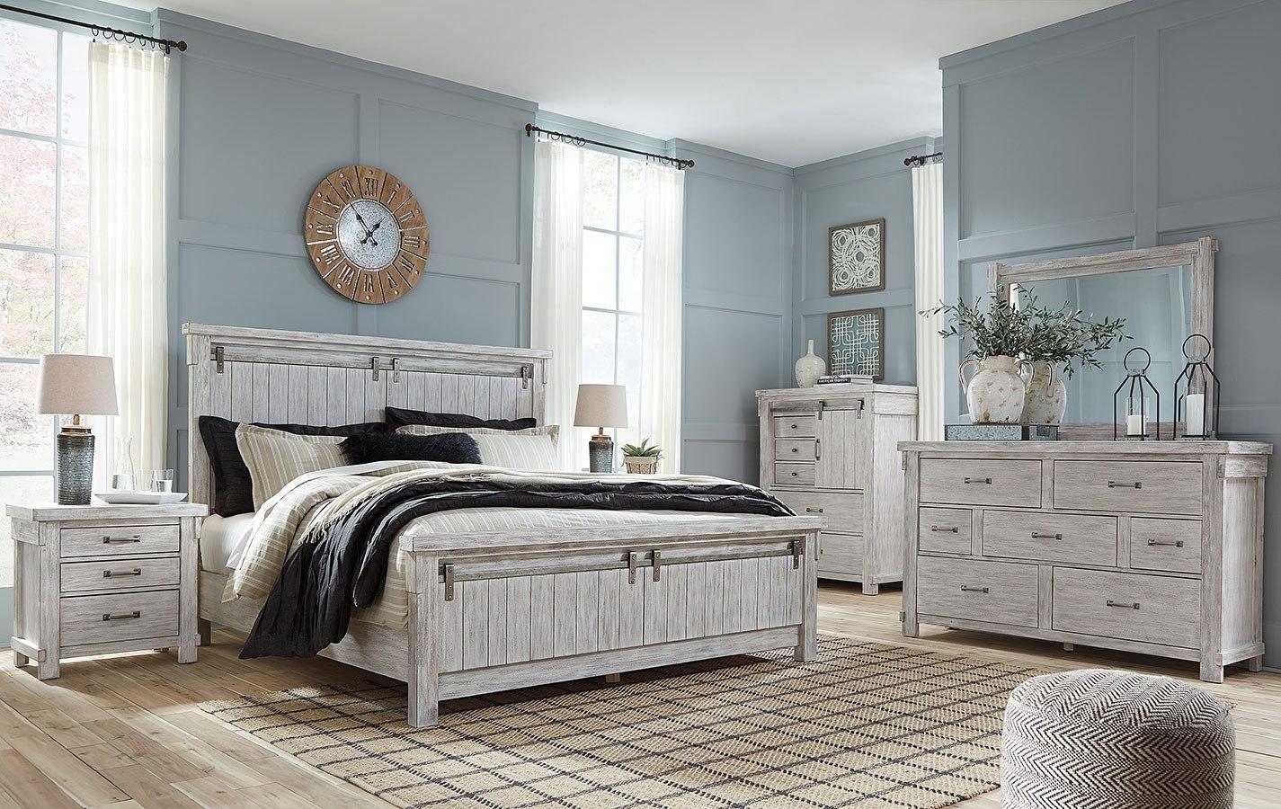 Brashland Panel Bedroom Set