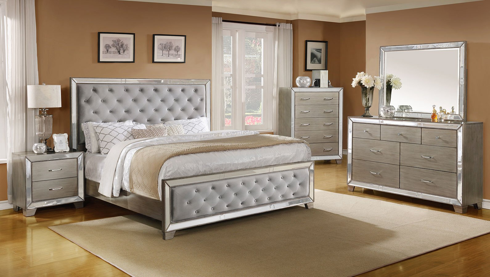 Cosette Panel Bedroom Set