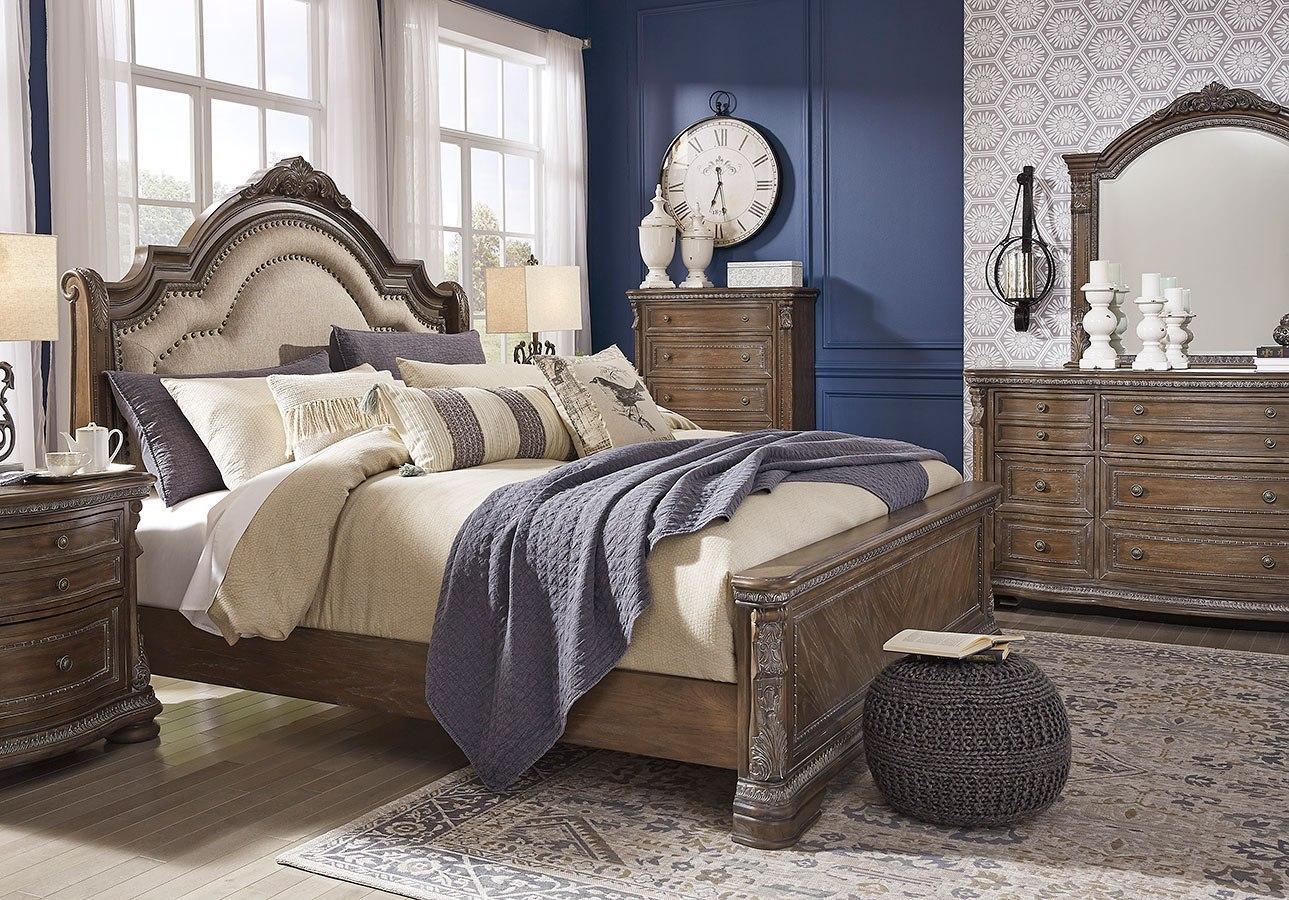 Charmond Sleigh Bedroom Set Signature Design Furniture Cart