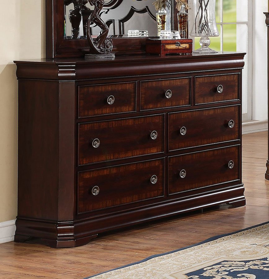 Charlotte poster bedroom set crown mark furniture for Furniture markup