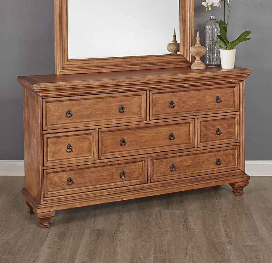 Cancun Dresser (Medium Pine) By Largo Furniture