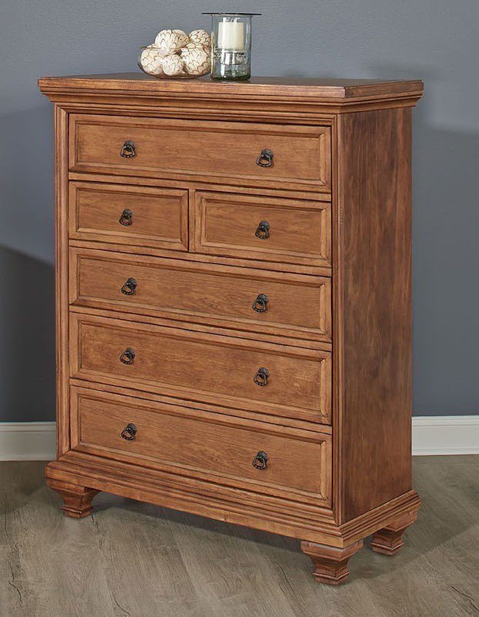 Cancun Chest (Medium Pine) By Largo Furniture