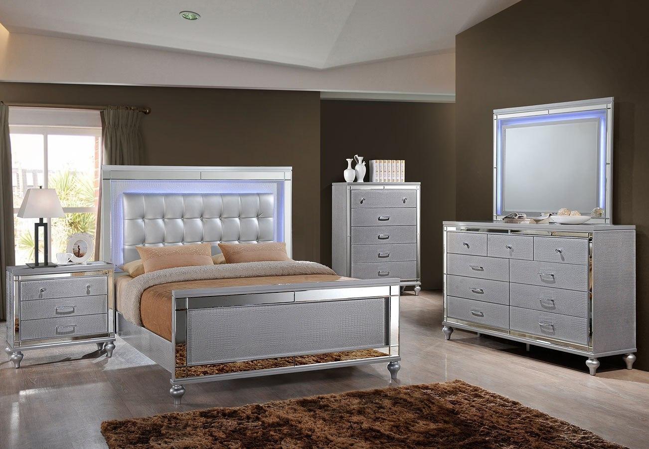 Valentino Panel Bedroom Set New Classic Furniture Furniture Cart