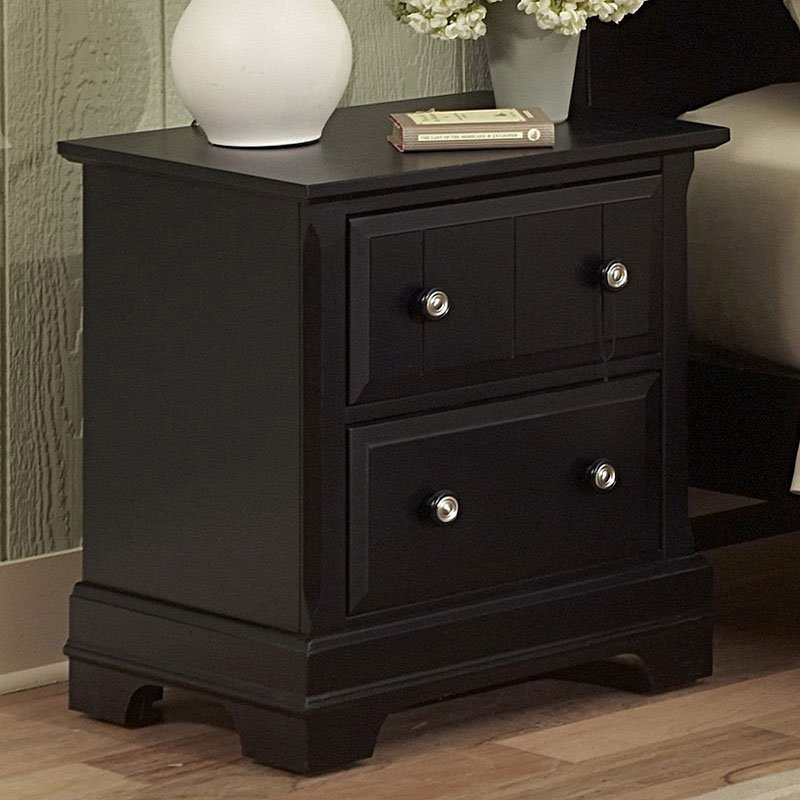 Cottage Nightstand (Black)