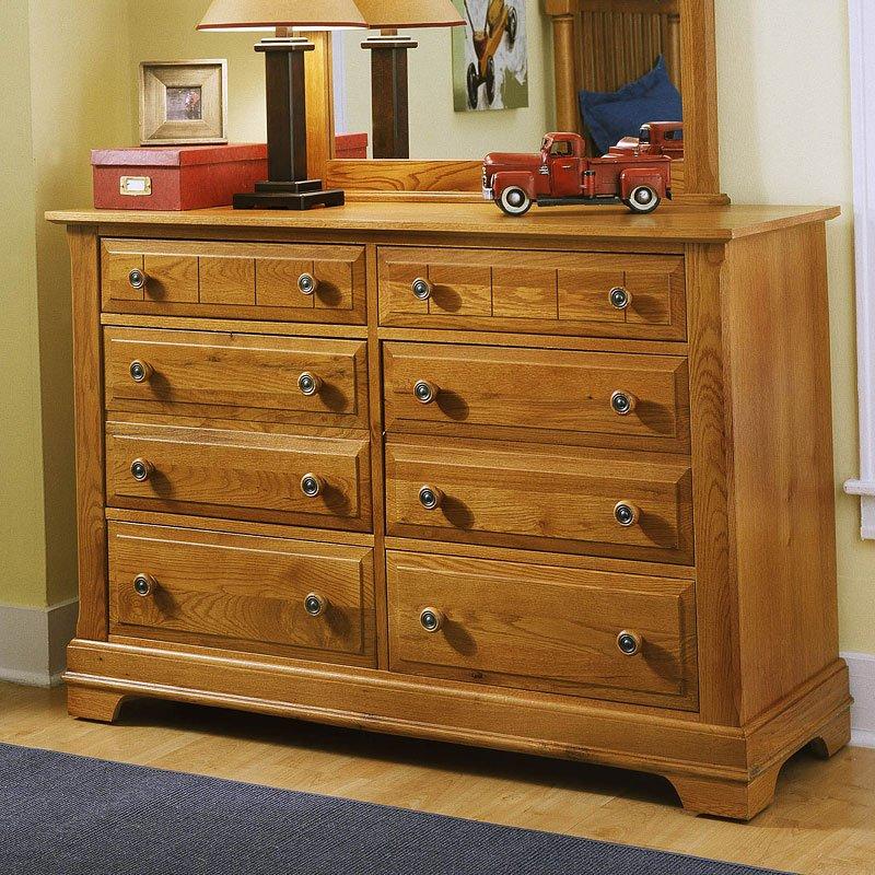 Bassett Furniture Bassett Va: Cottage Panel Bedroom Set (Oak) Vaughan Bassett