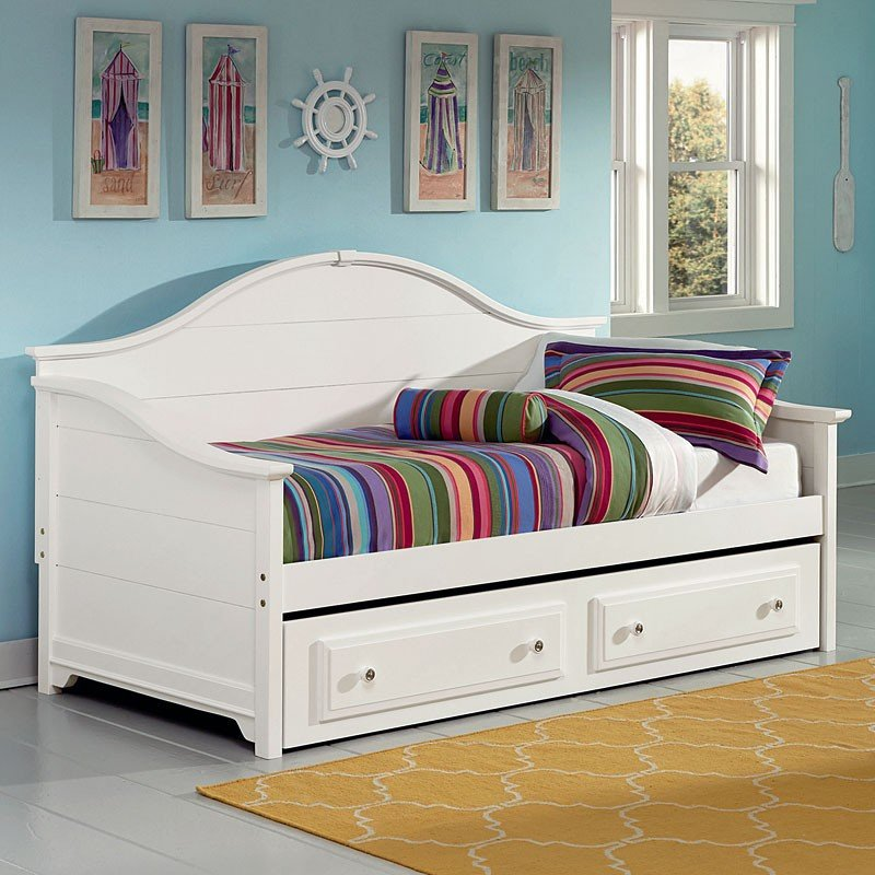 Cottage Daybed Snow White Vaughan Bassett Furniture Cart